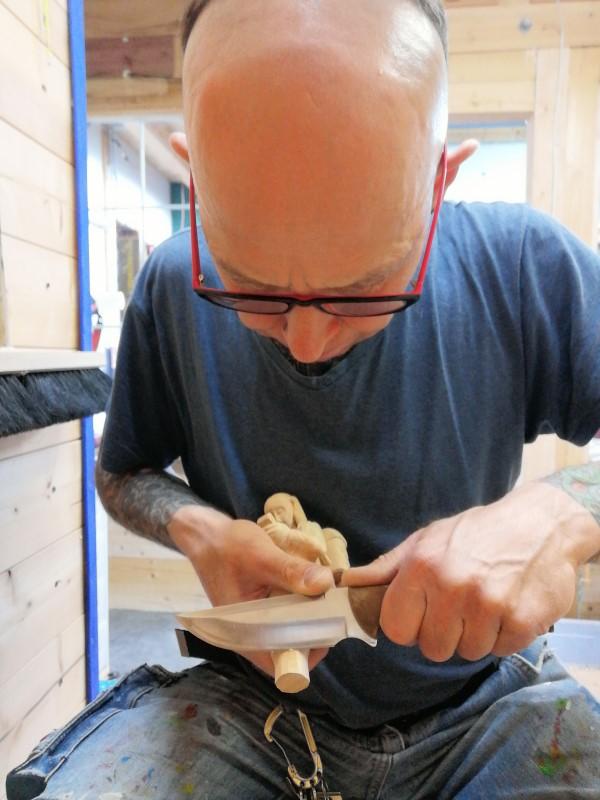 Atelier Bergluft, Bildhauer, christof seiser, Holzschnitzer